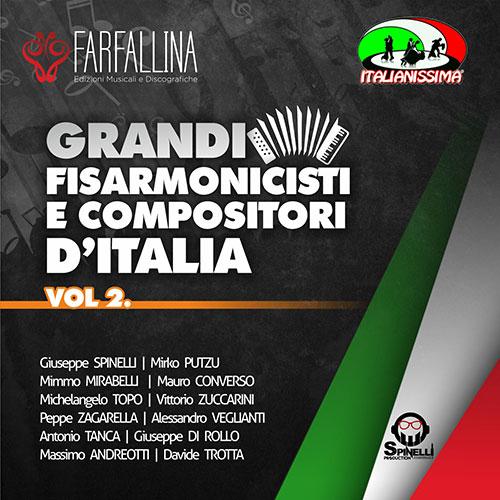 CD GRANDI FISARMONICISTI E COMPOSITORI D'ITALIA VOL.2