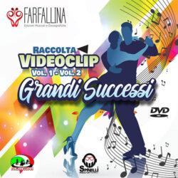 DOPPIO DVD GRANDI SUCCESSI RACCOLTA VIDEOCLIP VOL.1 VOL.2